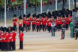 Major General's Review 2013: Drum Major Neill Lawman, Welsh Guards, leading the Band of the Welsh Guards down Horse Guards Road.. Horse Guards Parade, Westminster, London SW1,  United Kingdom, on 01 June 2013 at 10:29, image #109