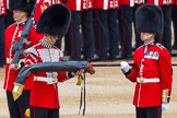 Major General's Review 2013: The uncasing of the Colour.. Horse Guards Parade, Westminster, London SW1,  United Kingdom, on 01 June 2013 at 10:32, image #125