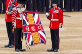 Major General's Review 2013: The Colour has been uncased.. Horse Guards Parade, Westminster, London SW1,  United Kingdom, on 01 June 2013 at 10:32, image #129