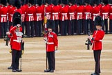 Major General's Review 2013: The Colour has been uncased.. Horse Guards Parade, Westminster, London SW1,  United Kingdom, on 01 June 2013 at 10:33, image #132