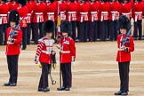 Major General's Review 2013: The Colour has been uncased.. Horse Guards Parade, Westminster, London SW1,  United Kingdom, on 01 June 2013 at 10:33, image #134