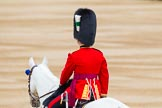 Major General's Review 2013: The Adjutant of the Parade, Captain C J P Davies, Welsh Guards.. Horse Guards Parade, Westminster, London SW1,  United Kingdom, on 01 June 2013 at 10:35, image #144