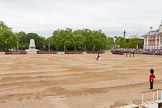 Major General's Review 2013: All six guards reposition to form a single, long, L-shaped line.. Horse Guards Parade, Westminster, London SW1,  United Kingdom, on 01 June 2013 at 10:35, image #148