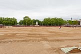 Major General's Review 2013: All six guards reposition to form a single, long, L-shaped line.. Horse Guards Parade, Westminster, London SW1,  United Kingdom, on 01 June 2013 at 10:36, image #150