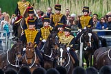 Major General's Review 2013: A closer look at The King's Troop Royal Horse Artillery.. Horse Guards Parade, Westminster, London SW1,  United Kingdom, on 01 June 2013 at 10:41, image #173