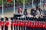 Major General's Review 2013: The Queen's Head Coachman, Mark Hargreaves arrives at Horse Guards Parade.. Horse Guards Parade, Westminster, London SW1,  United Kingdom, on 01 June 2013 at 10:58, image #238