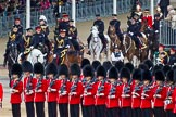 Major General's Review 2013: The remainder of The Royal Procession arrives at Hourse Guards Parade.. Horse Guards Parade, Westminster, London SW1,  United Kingdom, on 01 June 2013 at 10:59, image #243