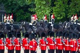 Major General's Review 2013: The Third and Forth Divisions of the Sovereign's Escort, The Blues and Royals.. Horse Guards Parade, Westminster, London SW1,  United Kingdom, on 01 June 2013 at 10:59, image #256