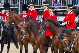 Major General's Review 2013: Four Grooms, The Royal Household.. Horse Guards Parade, Westminster, London SW1,  United Kingdom, on 01 June 2013 at 11:00, image #261