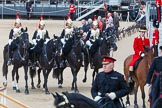 Major General's Review 2013: In focus Four Troopers of The Blue and Royals (Royal Horse Guards and 1st Dragoons).. Horse Guards Parade, Westminster, London SW1,  United Kingdom, on 01 June 2013 at 11:02, image #282