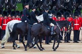 Major General's Review 2013: A two gentlemen, a Captain and Lieutenant Colonel representing Royal Colonels during Inspection of The Line at Horse Guards Parade.. Horse Guards Parade, Westminster, London SW1,  United Kingdom, on 01 June 2013 at 11:03, image #293