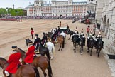 Major General's Review 2013: The scene before  the Inspection of the Line.. Horse Guards Parade, Westminster, London SW1,  United Kingdom, on 01 June 2013 at 11:02, image #285