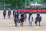 Major General's Review 2013: A member of Royal Procession during Inspection of the Line.. Horse Guards Parade, Westminster, London SW1,  United Kingdom, on 01 June 2013 at 11:06, image #305