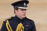 Major General's Review 2013: A Captian standing in for Lieutenant General Sir James Bucknall.. Horse Guards Parade, Westminster, London SW1,  United Kingdom, on 01 June 2013 at 11:06, image #308