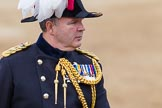 Major General's Review 2013: The Chief of Staff, Colonel Hugh Bodington, Welsh Guards, on horseback after the Inspection of the Line.. Horse Guards Parade, Westminster, London SW1,  United Kingdom, on 01 June 2013 at 11:06, image #310