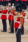 Major General's Review 2013: The Band of the Coldstream Guards, led by Senior Drum Major Matthew Betts, Coldstream Guards,. Horse Guards Parade, Westminster, London SW1,  United Kingdom, on 01 June 2013 at 11:10, image #325