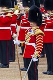 Major General's Review 2013: Drum Major D P Thomas, Grenadier Guards.. Horse Guards Parade, Westminster, London SW1,  United Kingdom, on 01 June 2013 at 11:10, image #326