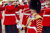 Major General's Review 2013: Drum Major D P Thomas, Grenadier Guards.. Horse Guards Parade, Westminster, London SW1,  United Kingdom, on 01 June 2013 at 11:10, image #332