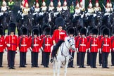 Major General's Review 2013: The Field Officer in Brigade Waiting, Lieutenant Colonel Dino Bossi, Welsh Guards.. Horse Guards Parade, Westminster, London SW1,  United Kingdom, on 01 June 2013 at 11:11, image #334