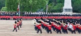 Major General's Review 2013: The Massed Band Troop - the final stages of the countermarch.. Horse Guards Parade, Westminster, London SW1,  United Kingdom, on 01 June 2013 at 11:11, image #335