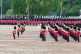 Major General's Review 2013: The Massed Band Troop - the final stages of the countermarch.. Horse Guards Parade, Westminster, London SW1,  United Kingdom, on 01 June 2013 at 11:11, image #336