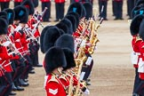 Major General's Review 2013: Musicians of  the Grenadier, Irish and Coldstream Guards.. Horse Guards Parade, Westminster, London SW1,  United Kingdom, on 01 June 2013 at 11:12, image #347