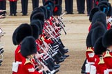 Major General's Review 2013: Musicians of  the Grenadier, Irish and Coldstream Guards.. Horse Guards Parade, Westminster, London SW1,  United Kingdom, on 01 June 2013 at 11:13, image #348