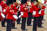 Major General's Review 2013: Musicians of  the Grenadier Guards.. Horse Guards Parade, Westminster, London SW1,  United Kingdom, on 01 June 2013 at 11:14, image #353