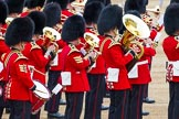 Major General's Review 2013: Musicians of  the Grenadier Guards.. Horse Guards Parade, Westminster, London SW1,  United Kingdom, on 01 June 2013 at 11:14, image #354