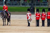 """Major General's Review 2013: The """"Lone Drummer"""", Lance Corporal Christopher Rees, starts playing the Drummer's Call.. Horse Guards Parade, Westminster, London SW1,  United Kingdom, on 01 June 2013 at 11:14, image #357"""