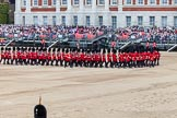 Major General's Review 2013: The Escort to the Colour is advancing in slow time.. Horse Guards Parade, Westminster, London SW1,  United Kingdom, on 01 June 2013 at 11:21, image #412