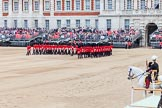 Major General's Review 2013: The Escort to the Colour performing a 90-degree-turn.. Horse Guards Parade, Westminster, London SW1,  United Kingdom, on 01 June 2013 at 11:22, image #415