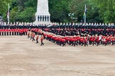 Major General's Review 2013: The five Drum Majors leading the Massed Bands as they are playing the Grenadiers Slow March.. Horse Guards Parade, Westminster, London SW1,  United Kingdom, on 01 June 2013 at 11:23, image #421