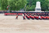 Major General's Review 2013: The five Drum Majors leading the Massed Bands as they are playing the Grenadiers Slow March.. Horse Guards Parade, Westminster, London SW1,  United Kingdom, on 01 June 2013 at 11:23, image #422