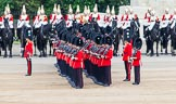 Major General's Review 2013: No.2 Guard,1st Battalion Welsh Guards, before the March Past.. Horse Guards Parade, Westminster, London SW1,  United Kingdom, on 01 June 2013 at 11:29, image #451