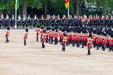 Major General's Review 2013: Massed Bands Troop during March Past in Slow Time.. Horse Guards Parade, Westminster, London SW1,  United Kingdom, on 01 June 2013 at 11:31, image #470