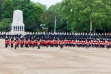 Major General's Review 2013: Massed Bands Troop during March Past in Slow Time.. Horse Guards Parade, Westminster, London SW1,  United Kingdom, on 01 June 2013 at 11:32, image #474