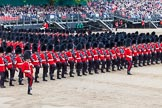 Major General's Review 2013: The March Past in Slow Time-Welsh Guards.. Horse Guards Parade, Westminster, London SW1,  United Kingdom, on 01 June 2013 at 11:34, image #493