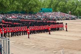 Major General's Review 2013: The March Past in Slow Time-Welsh Guards.. Horse Guards Parade, Westminster, London SW1,  United Kingdom, on 01 June 2013 at 11:34, image #489