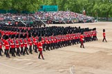 Major General's Review 2013: The March Past in Slow Time-Welsh Guards.. Horse Guards Parade, Westminster, London SW1,  United Kingdom, on 01 June 2013 at 11:34, image #494