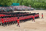 Major General's Review 2013: The March Past in Slow Time-Welsh Guards.. Horse Guards Parade, Westminster, London SW1,  United Kingdom, on 01 June 2013 at 11:34, image #495