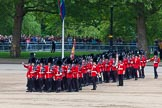 Major General's Review 2013: The March Past in Quick Time - the guards perform another ninety-degree-turn.. Horse Guards Parade, Westminster, London SW1,  United Kingdom, on 01 June 2013 at 11:40, image #529