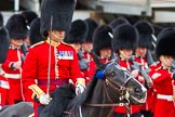 Major General's Review 2013: The March Past in Quick Time - the Major of the Parade, Major H G C Bettinson, Welsh Guards.. Horse Guards Parade, Westminster, London SW1,  United Kingdom, on 01 June 2013 at 11:42, image #536