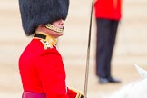 Major General's Review 2013: Field Officer in Brigade Waiting, Lieutenant Colonel Dino Bossi, Welsh Guards during the March Past in Qucik Time.. Horse Guards Parade, Westminster, London SW1,  United Kingdom, on 01 June 2013 at 11:43, image #545