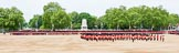 Major General's Review 2013: At the end of the March Past in Quick Time, all five guards on the northern side of Horse Guards Parade peform a ninety-degree-turn at the same time.. Horse Guards Parade, Westminster, London SW1,  United Kingdom, on 01 June 2013 at 11:47, image #561