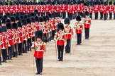Major General's Review 2013: The Massed Band march away to leave room for  the Mounted Bands.. Horse Guards Parade, Westminster, London SW1,  United Kingdom, on 01 June 2013 at 11:49, image #569