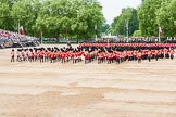 Major General's Review 2013: The Massed Band march away to leave room for  the Mounted Bands.. Horse Guards Parade, Westminster, London SW1,  United Kingdom, on 01 June 2013 at 11:49, image #567