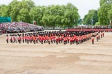 Major General's Review 2013: The Massed Band march away to leave room for  the Mounted Bands.. Horse Guards Parade, Westminster, London SW1,  United Kingdom, on 01 June 2013 at 11:49, image #568