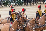 Major General's Review 2013: The Ride Past - the King's Troop Royal Horse Artillery.. Horse Guards Parade, Westminster, London SW1,  United Kingdom, on 01 June 2013 at 11:51, image #597