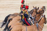 Major General's Review 2013: The Ride Past - the King's Troop Royal Horse Artillery.. Horse Guards Parade, Westminster, London SW1,  United Kingdom, on 01 June 2013 at 11:52, image #601